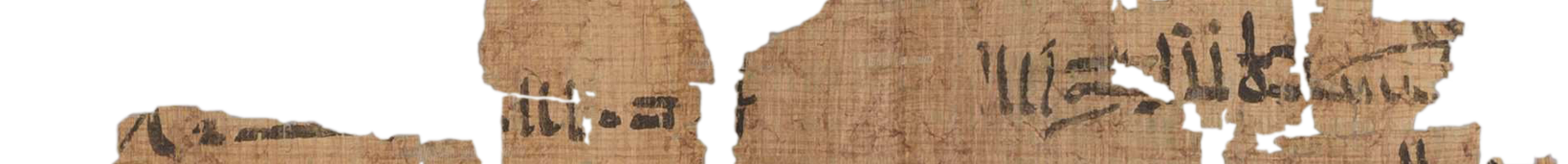 the Turin king list 4.1 (photo of the hieratic text)