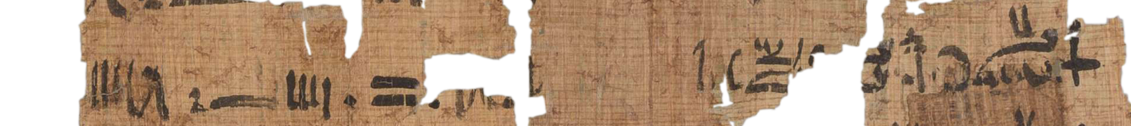 the Turin king list 4.2 (photo of the hieratic text)
