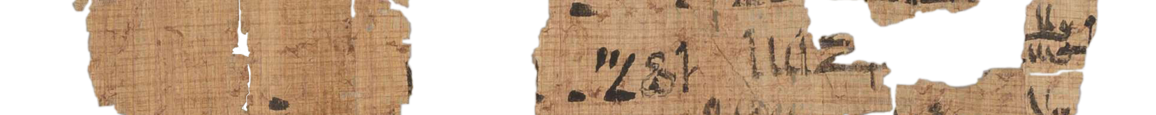 the Turin king list 4.7 (photo of the hieratic text)