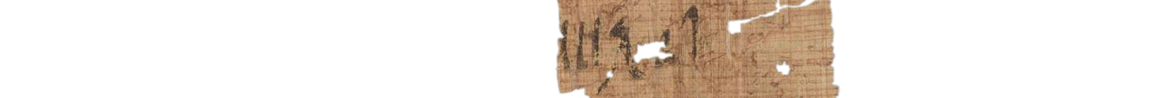 the Turin king list 4.10 (photo of the hieratic text)