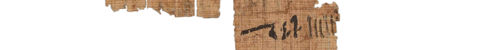 the Turin king list 4.17 (photo of the hieratic text)