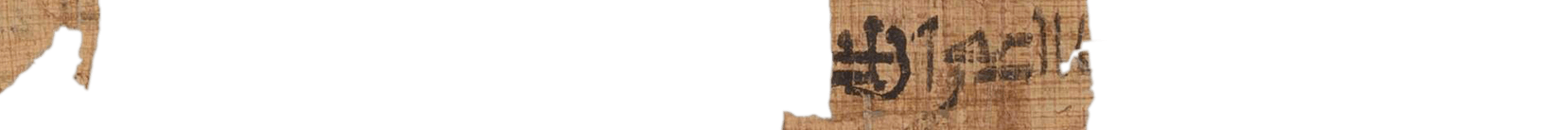 the Turin king list 4.19 (photo of the hieratic text)