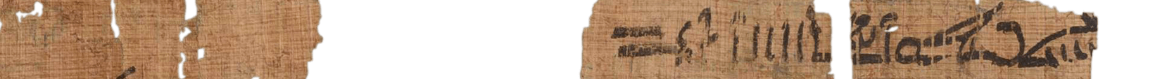 the Turin king list 4.23 (photo of the hieratic text)