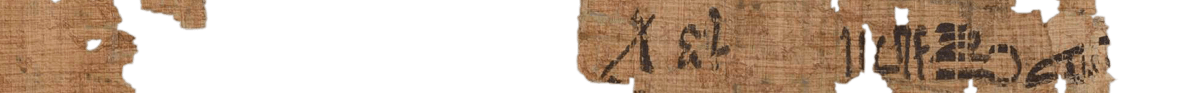 the Turin king list 4.25 (photo of the hieratic text)
