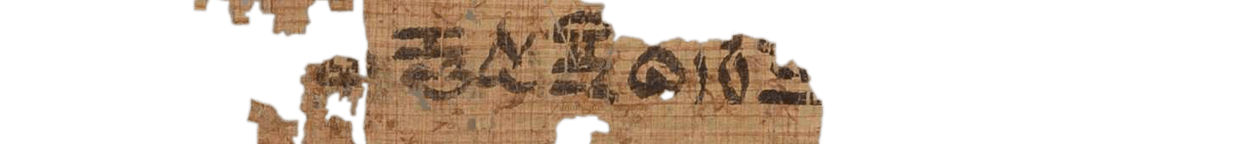 the Turin king list 6.19 (photo of the hieratic text)