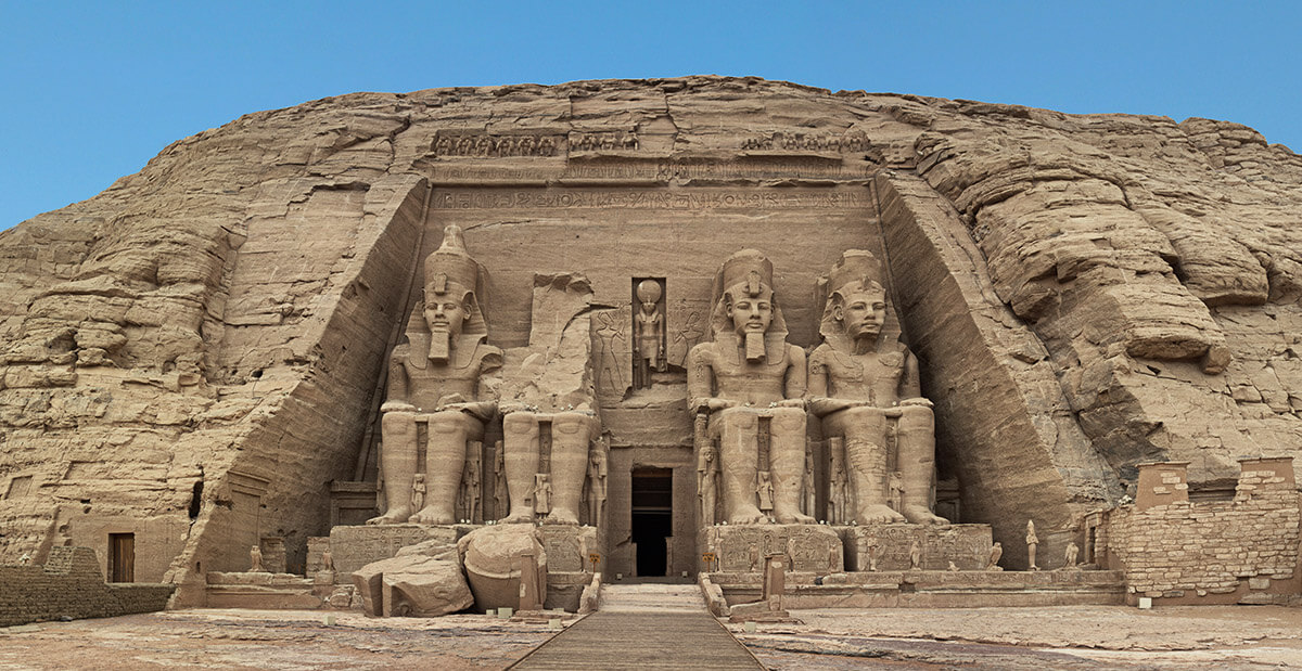 Abu Simbel grand temple