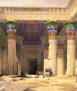 The illustrations of ancient Egypt