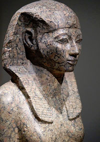 picture of Statue of Hatshepsut in Rijksmuseum van Oudheden, Leiden, The Netherlands