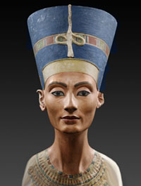 picture of Berlin bust of Nefertiti